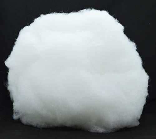 SEEBAUER diy® Bastelwatte ca. 300 g | Kuscheliger Hochbausch-Polyester | Füllwatte für Bastelarbeiten (300 g)