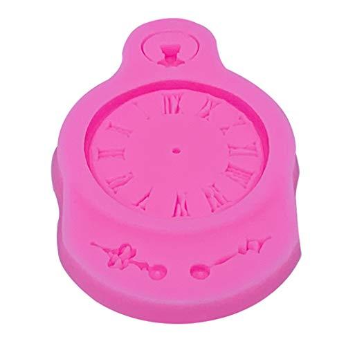 Qianqian56 Retro Pocket Horloge Patronen Silica Gel Suiker Mallen DIY Chocolade Cake Decoratieve Bakken Tool