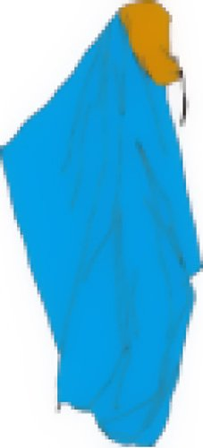AIRMONTE(エアモンテ)パーソナルツェルトVITA(ヴィータ)800060/ブルー×オレンジ