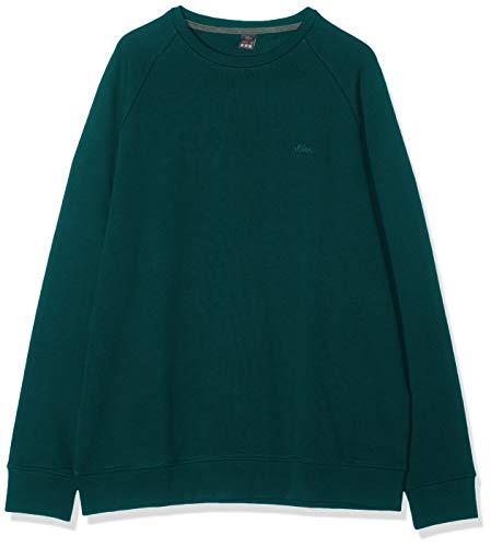 s.Oliver Big Size Herren 15.908.41.2868 Sweatshirt, Blau (Petrol Essence 6765), EU:3XL/FR:4XL