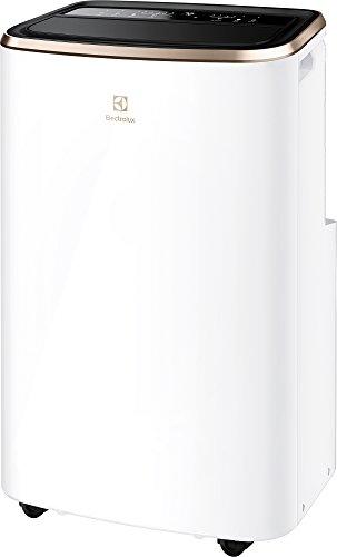 Electrolux EXP26U758CW Chillflex Pro GOld Condizionatore portatile 10K BTU, sistema autoevaporante, Elegante Design con 1400 W, 41 Decibel, Classe A++ , Bianco