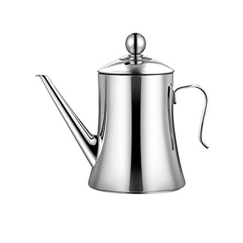 YWSZJ Cafetera de Acero Inoxidable, bolsitas de té Cafetera Jugo Olla con Tapa Hotel Restaurante (Size : 1.5L)