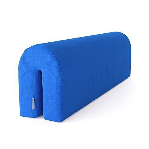 VitaliSpa Bettkantenschutz Bettumrandung Kinderbett Kantenschutz Babybett (Blau)