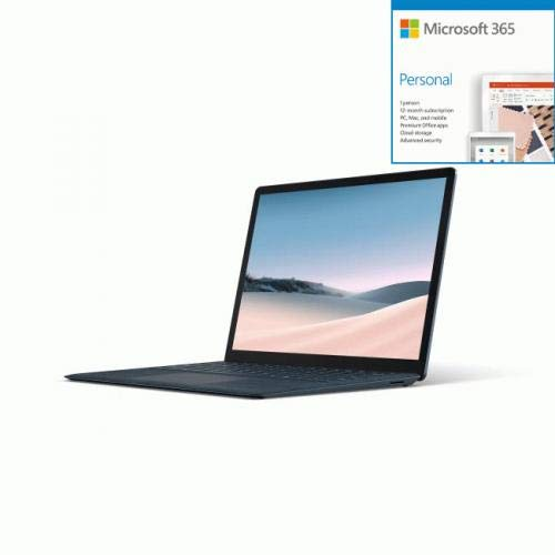 Microsoft Surface Laptop 3 13.5' Intel Core i7 16GB RAM 512G + Microsoft 365 Bundle