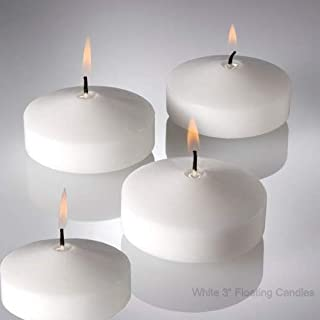 Gracie's Thick Floating Candles - 12 Pieces (3