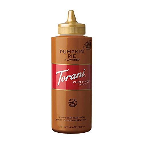 Torani Puremade Pumpkin Pie Sauce, 16.5 Ounces