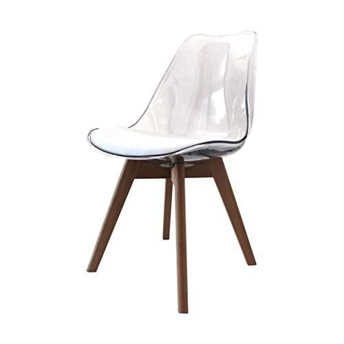 ZONS Lot de 2 chaises cuisine Alba
