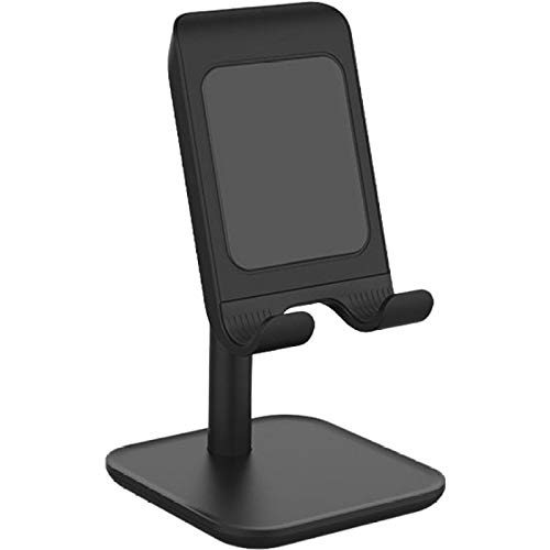 Cell Phone Stand for Desk Universal Adjustable Tablet Phone Holder Wireless Charging Stand for Gaming Watching Video Chat
