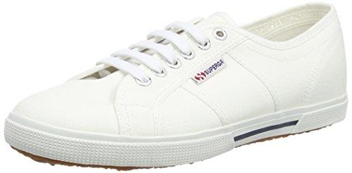 Superga 2950 Cotu - Sneakers unisex, Bianco (900 White), 43