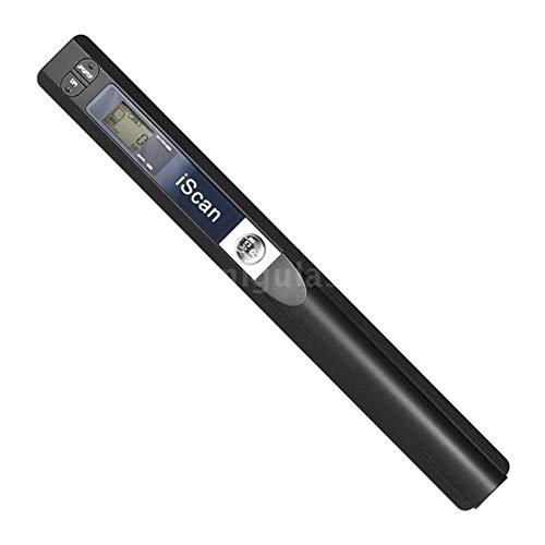 Q&N Tragbarer Dokumentenscanner, HD 900DPI-Handscanner, Mobiles A4-Farbbild-Scannen, Schnelles Scannen in 3 Sekunden Für Heim/Büro (JPG/PDF-Format), Schwarz