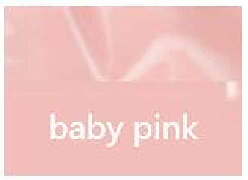 lenceria de cuero sexy mujerMini faldas de látex sexy hechas a mano Vestidos ajustados de goma de látex con cremallera trasera-baby_pink_L
