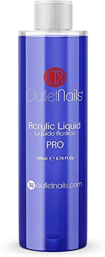 Liquido Acrilico Profesional 200ml / Monomero para uñas acrílicas