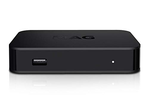 MAG 420W1 WiFi IP TV HEVC H.265 4K UHD 60FPS Linux USB 3.0 LAN HDMI