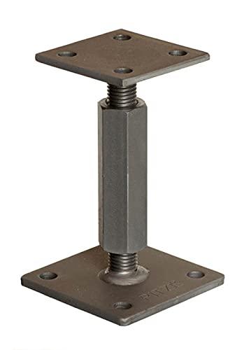 1 Stück Pitzl® Pfostenträger Typ - P-Junior -ZiNiP höhenverstellbar, Nutzungsklasse 3