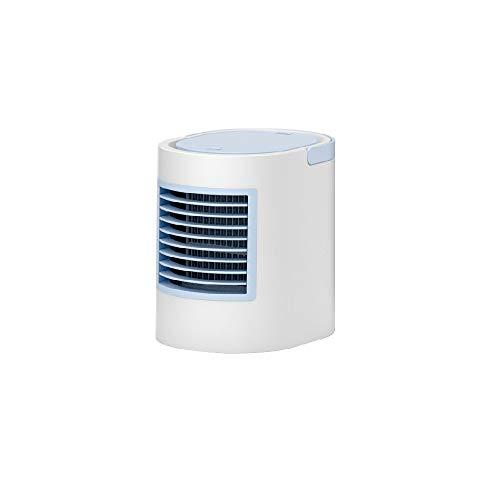 Klimagerät Kleine Klimaanlage Kälteschlaf Sommer Kühlsysteme Mini-USB-Ventilator-Luftkühler Desktop-Silent-Kühlung Lüfter (Color : Blau)