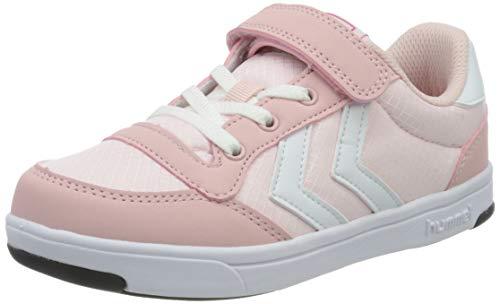 Hummel Mädchen Stadil Ripstop Low Jr. Sneaker High-Top, Pink (Silver Pink 3026), 38 EU