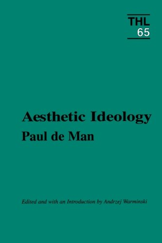 Aesthetic Ideology PDF Books