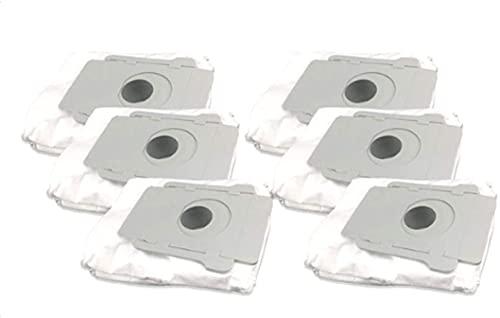 DONGYAO Kit de piezas de repuesto para aspiradora Irobot Roomb 527e 529 595 600 610 620 630 645 650 655 660 680 Series Cleaner para aspiradora (color : 10 bolsas de polvo para aspiradoras)