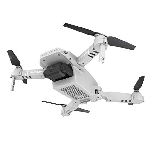 Wenjuan 2.4Ghz KF609 Mini Drone WiFi with Six-Axis 720P/4K HD Dual Camera APP Control Foldable Gestures Take Photos No Head Mode RC Drone Quadcopter