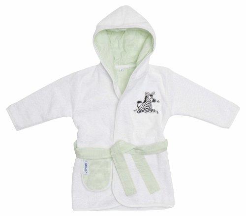 bébé-jou 301655N Bademantel Dinkey Zebra kariert