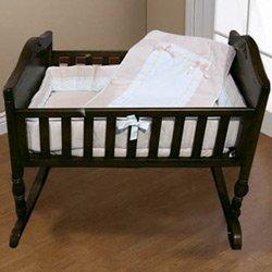 Babykidsbargains Lucillia Cradle Bedding Blue 18 x 36
