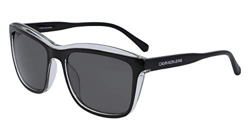 CALVIN KLEIN JEANS EYEWEAR Womens CKJ18504S zonnebrillen, zwart, 5618