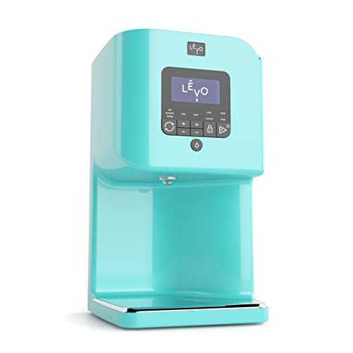 LEVO II - Herbal Oil and Butter Infusion Machine - Botanical Decarboxylator, Herb Dryer and Oil Infuser - Mess-Free and Easy to Use - WiFi-Enabled via Programmable App (Robin Blue)