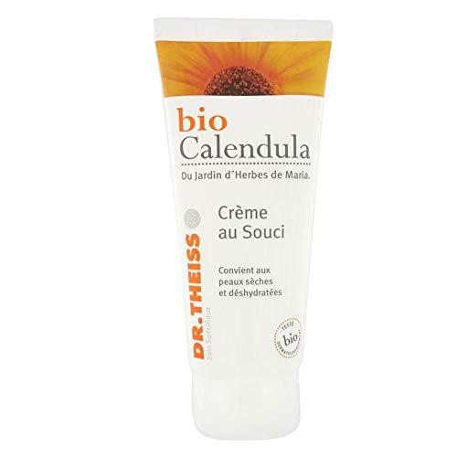 Bio Calendula Crème au Souci Tube, Neutre, Miel, 100 ml