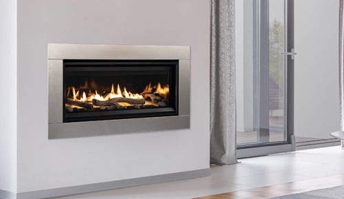 Find Cheap 45'' Linear DV Modern Fireplace with Electronic Ignition - NG
