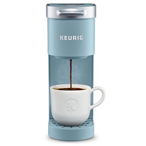 Keurig K-Mini Coffee Maker, Single Serve K-Cup Pod Coffee Brewer, 6 to 12 Oz. Brew Sizes, Dreamy Blue