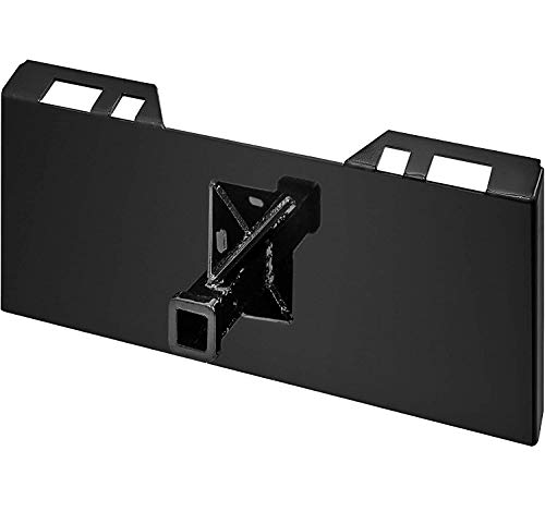"""Mophorn 1/4""""Thick Plate 3/8"""" Top Bar Thic Quick Tach Attachment Mount Plate Skid Steer Bobcat"""