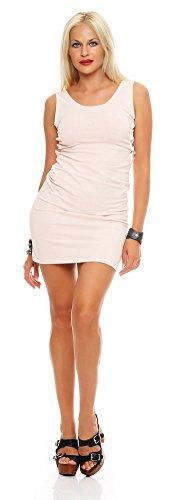 AE Damen Minikleid Kurzes Kleid Dress Cocktailkleid mit Schnürungen Abendkleid Clubwear Gr. S M 36...