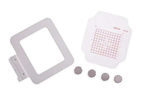 "Small Metal Hoop for Creative PFAFF & Viking Embroidery Machine 100x100mm 4""x4"