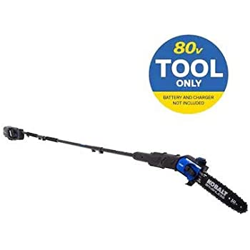 Kobalts 80-Volt Lithium Ion 10-in Cordless Electric Pole Saw (No Battery or Charger, Pole Saw Only)