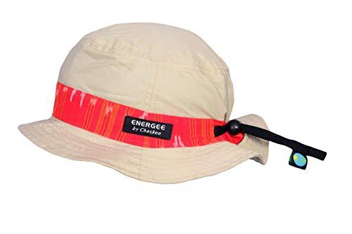 Chaskee Energee Bob Bucket Cap Ethnic Stripe Sonnenhut, Farbe:beige-red