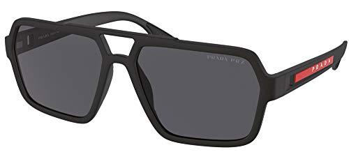Prada Gafas de Sol Linea Rossa LINEA ROSSA SPS 01X Matte Black/Grey 59/16/145 hombre
