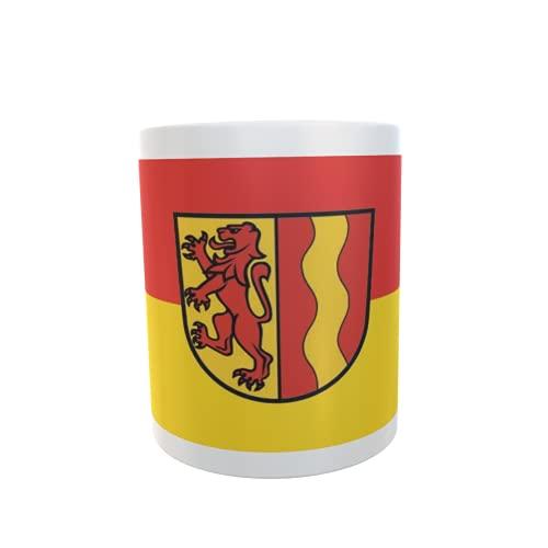 U24 Tasse Kaffeebecher Mug Cup Flagge Dettingen an der Iller