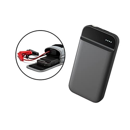 LUGEUK Cargador de alimentación móvil portátil de Inicio de Salto de automóvil para automóvil de Gasolina 3.0L con luz LED Potencia portátil automática de energía automática