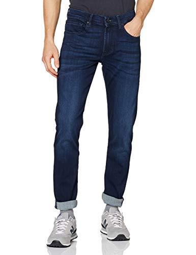 7 For All Mankind Herren Slimmy Tapered Fit Jeans, Blau (Dark Blue 0ip), 34W 32L EU