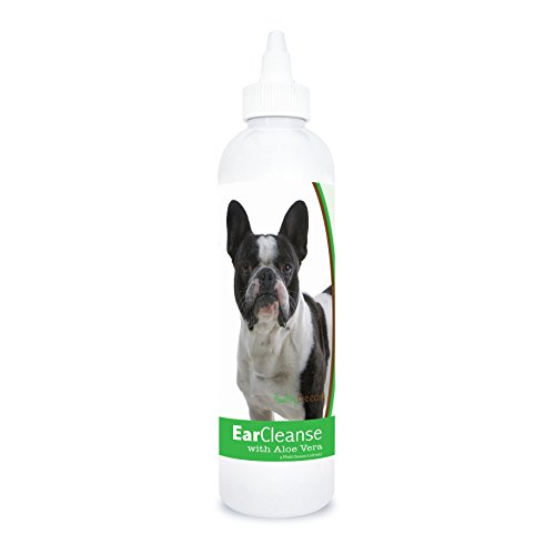 Healthy Breeds French Bulldog Ear Cleanse with Aloe Vera Cucumber Melon 4 oz