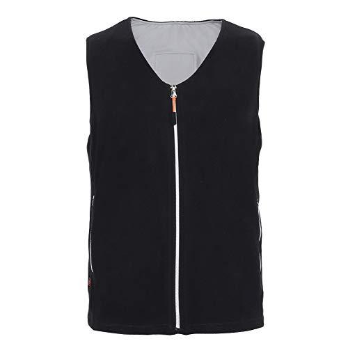 lahomie outdoor verwarmd vest jas, USB V-hals elektrische verwarming Vest infrarood warm vest outdoor jas jas voor camping wandelen vissen