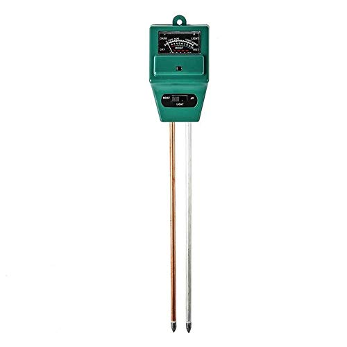 Great Deal! 3-in-1 Round-head Plant Pot Soil Tester Moisture PH Value Light Intensity Testing #35 (B...