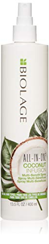 BIOLAGE Biolage All-In-One Coconut Infusion | Multi-Benefit Treatment Spray | Sulfate & Paraben-Free| For All Hair Types | 13.5 Fl. Oz, 13.5 fl. oz.
