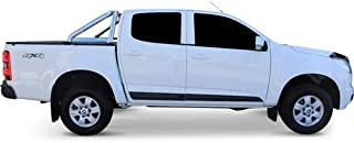 Holden Colorado Dual Cab July 2012 to Current Without Headboard, With Sports Bar Clip On Ute Tonneau Cover. Tuff Tonneaus ...