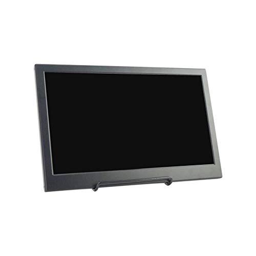 Silverdrew Monitor portátil de 13.3 Pulgadas HDMI 1920x1080 HD IPS Pantalla Monitor LED de computadora con Estuche de Cuero para PS4 Pro/Xbox/Teléfono