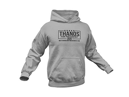 Thanos Hoodie. Thanos for President 2020. Thanos 2020. Adult Unisex. Multiple colors and sizes up to 4XL