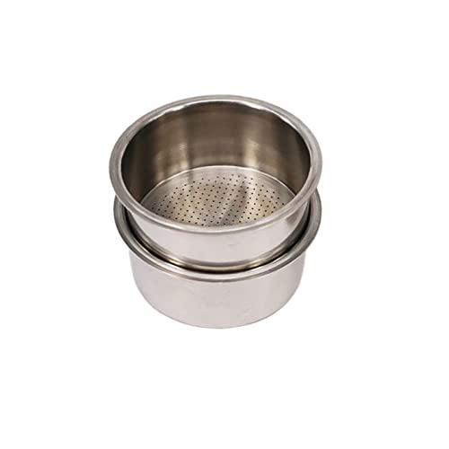 CBCN Stal nierdzewna Pojedyncza warstwa 51mm 2Cup wysoki ciśnienie Breville Delonghi Krups Ekspres do kawy Filtr Porowate Akcesoria Double Cup