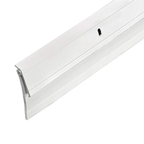 Frost King A62/36WH Premium Extra Wide Aluminum and Vinyl Door Sweep 2-Inch by 36-Inch,, White