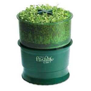 Tribest Freshlife 3000 Germoir Automatique, 25,4 x 25,4 x 36,6 cm, Vert