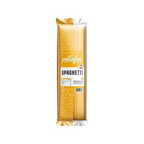 pastafani Spaghetti 500g - Regionale Nudeln aus natürlichen, qualitativ hochwertigen Zutaten ohne Aroma- oder Zusatzstoffe, vegetarisch